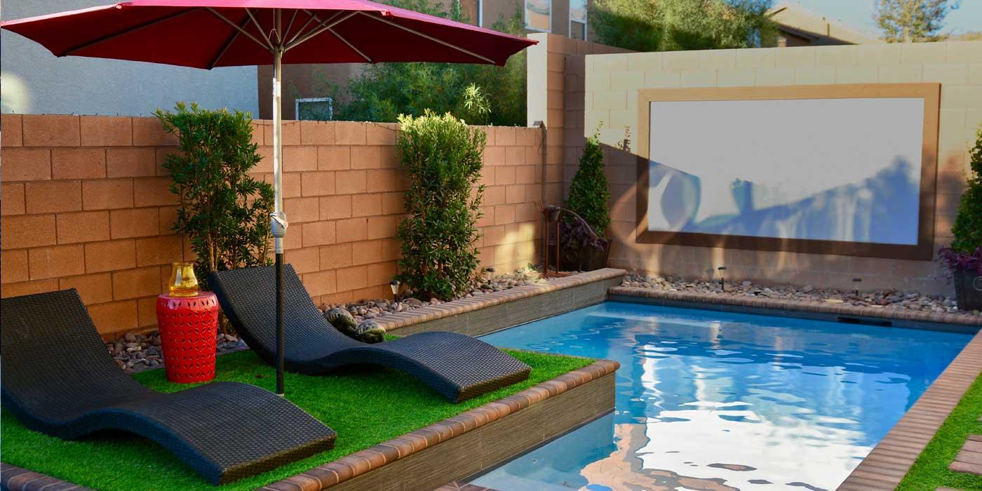 Geometric Pool Contractor Las Vegas | Green O\' Aces Pools & Landscape
