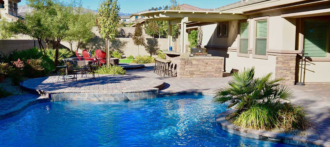 Las Vegas Pool Builder Landscape Design Gallery