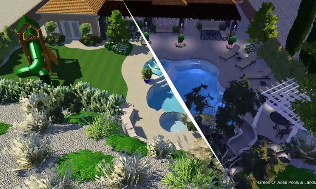 Pool & Spa Design | Green O\' Aces Pools & Landscape