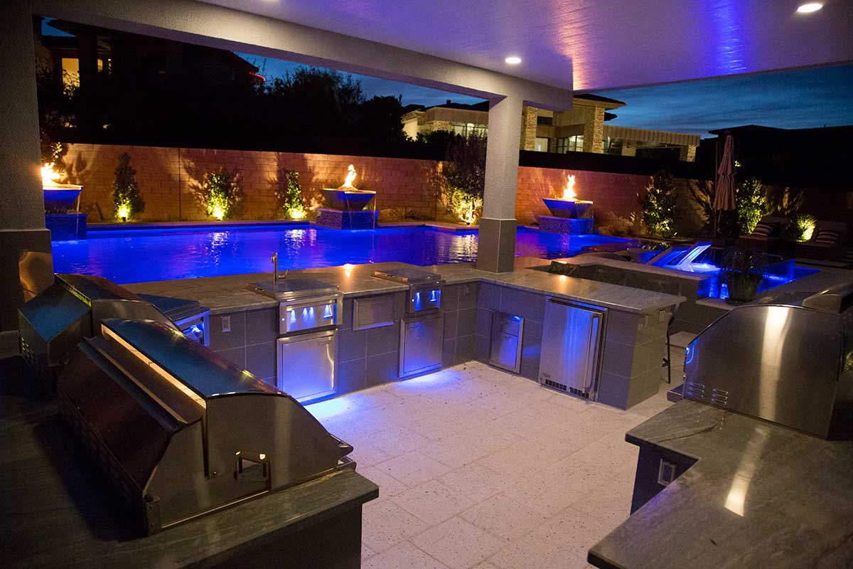 Outdoor Living Architecture Green O Aces Pools Amp Landscape